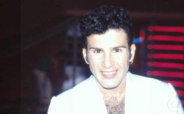 """Ator viveu o divertido Lulu na novela """"Barriga de Aluguel"""", que foi ao ar em 1990 (Foto: Acervo TV Globo)"""