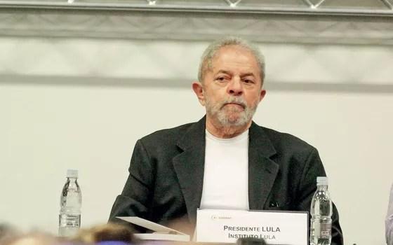 O ex-presidente Luiz Inácio Lula da Silva (Foto: Aloisio Mauricio / Fotoarena)