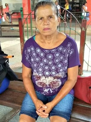 Maria Altenir da Silva Santos, 70 anos (Foto: Vanusa Santos/ Arquivo Pessoal)