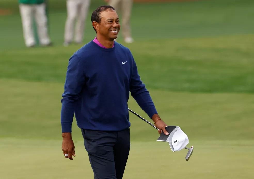 Tiger Woods é astro do golfe — Foto: Reuters