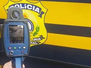 Mais de 3,5 mil multas foram aplicadas em rodovias federais do RS (Foto: Divulgação/PRF)