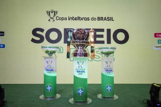Taça da Copa do Brasil — Foto: Thais Magalhães/CBF
