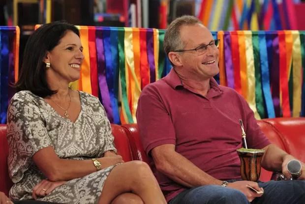 Beltrame e a esposa, Rita, falam do amor ao Rio de Janeiro (Foto: Divulgação / Rede Globo)