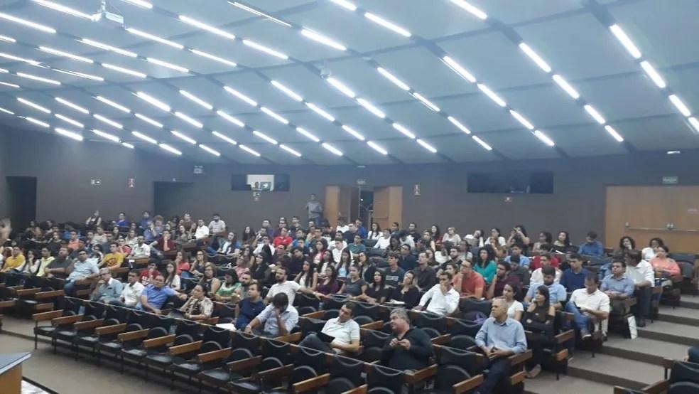 Workshop de Startups de Campina Grande reúne estudantes e empreendedores para a discussão sobre temas relevantes para a sociedade  — Foto: Secretaria de Inovação e Tecnologia/Divulgação