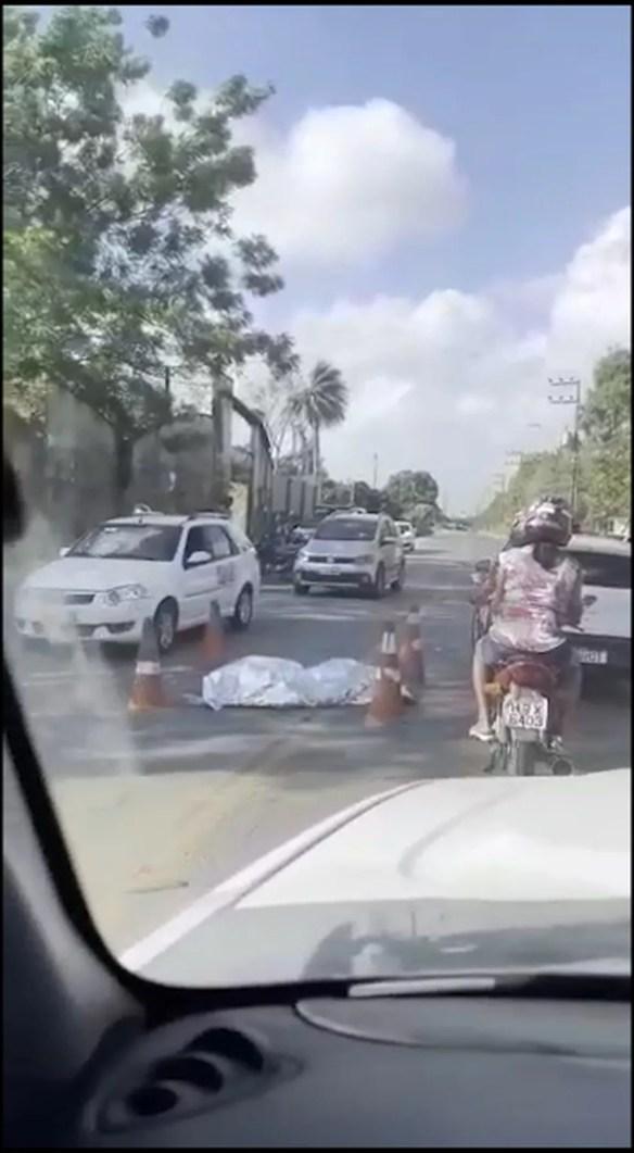Acidente aconteceu na MA-202 em São José de Ribamar — Foto: Divulgação/Redes Sociais