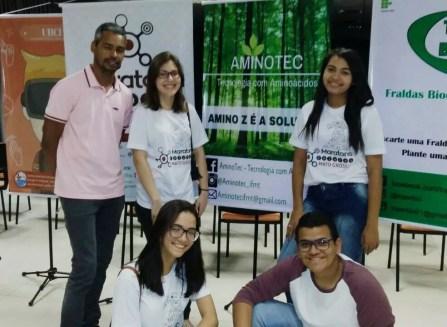 Alunos venceram Maratona Células Empreendedoras MT (Foto: Divulgação)