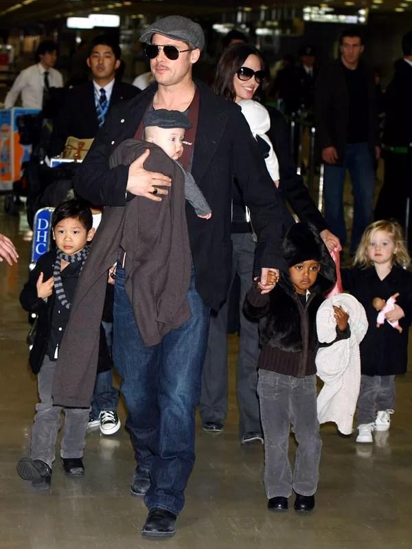 Angelina Jolie and Brad Pitt (Photo: )