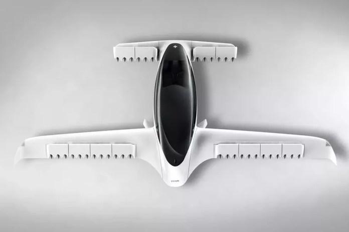 Aeronave conta com 36 motores elétricos que prometem autonomia de 300 km. — Foto: Divulgação/Lilium