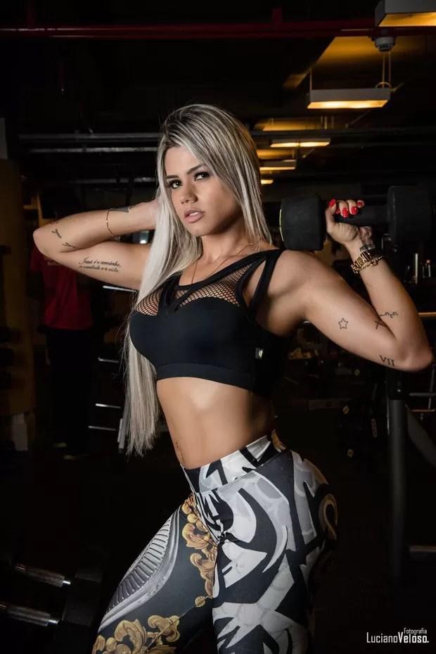 Janaina Santucci (Foto: Luciano Veloso/Divulgação)