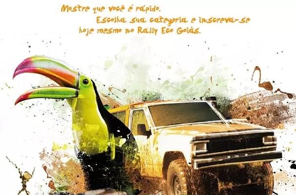 Primeira etapa do Rally Eco Goiás 2015 será em Itumbiara (Foto: TV Anhanguera)