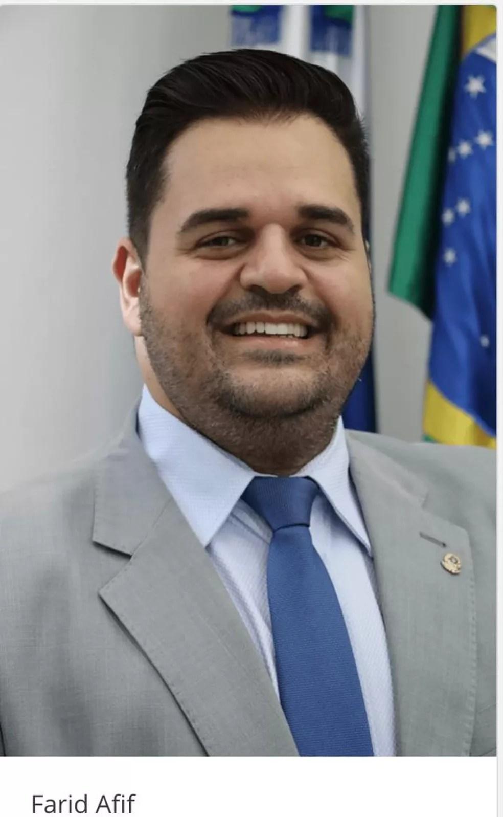 Vereador morto em Ponta Porã — Foto: Redes sociais