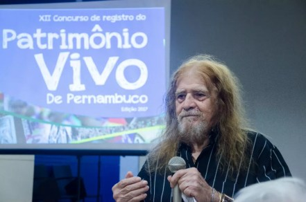 Ator e diretor José Pimentel foi uma das personalidades escolhidas como patrimônio vivo de Pernambuco (Foto: Jan Ribeiro/Secult-PE/Divulgação)