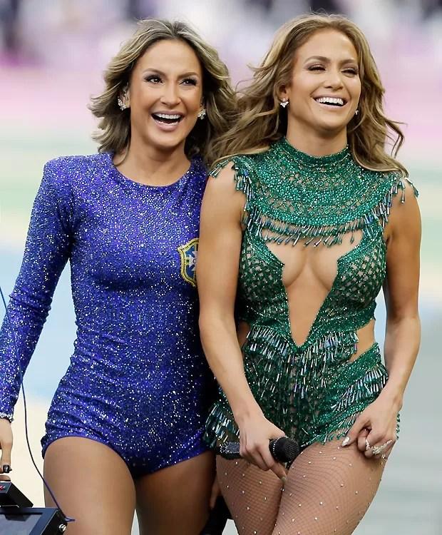 Claudinha e J.Lo (Foto: AP)