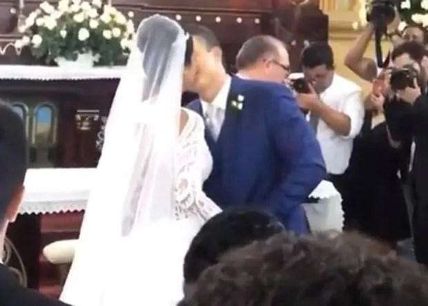 Munik Nunes se casa com Anderson Felício (Foto: Reprodução/Instagram)