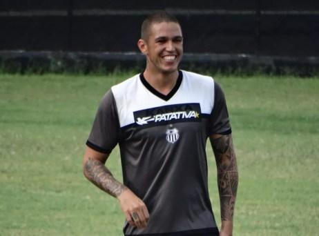 Luizão atacante Central (Foto: Lafaete Vaz / GloboEsporte.com)