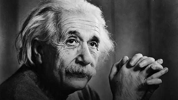 O cientista Albert Einstein (Foto: Wikimedia Commons/Wikipedia)