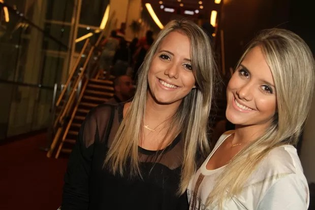 As gêmeas Andressa e Amanda, do BBB15 (Foto: Anderson Borde/AgNews)