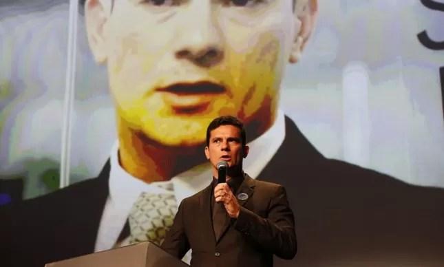 O juiz Sérgio Moro, responsável pela Lava-Jato, personalidade do Ano 2014, Prêmio Faz Diferença de O Globo (Foto: Pablo Jacob / Agência O Globo)