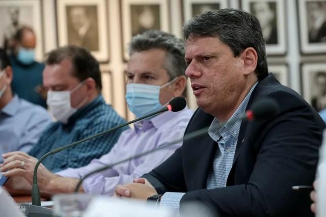 Ministro Tarcísio deve visitar Barra do Garças e Cuiabá — Foto: Mayke Toscano/Secom-MT