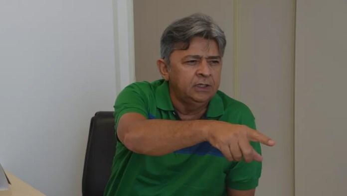 Presidente do Sousa, Aldeone Abrantes teme que novos atos de violência ainda aconteçam contra o time paraibano (Foto: Hévilla Wanderley / GloboEsporte.com/pb)