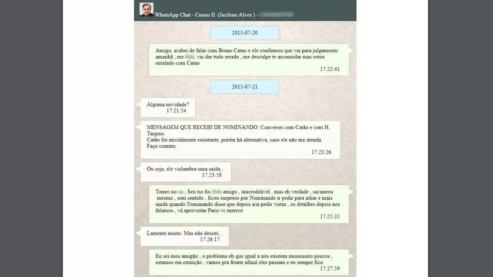 wpp-cassio Relatório mostra conversas entre senador, empresário e conselheiro do TCE para barrar shopping na PB