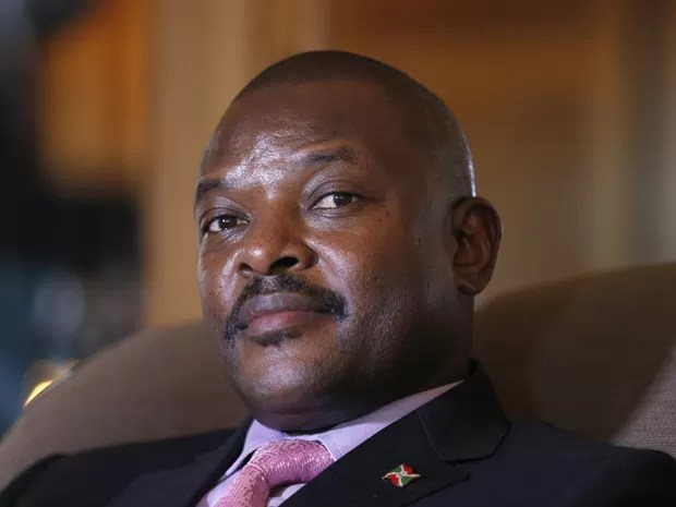 O presidente do Burundi, Pierre Nkurunziza, em foto de 4 de junho de 2014 (Foto: AFP Photo/François Guillot)