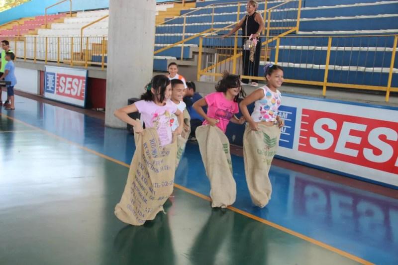 E essa corrida maluca? hehehehe (Foto: Matheus Castro/Rede Amazônica)