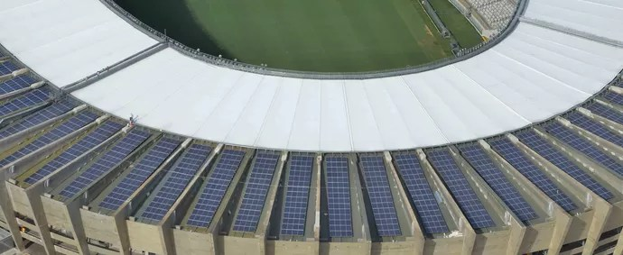 Usina Solar do Mineirão (Foto: Renato Cobucci\Secom MG)