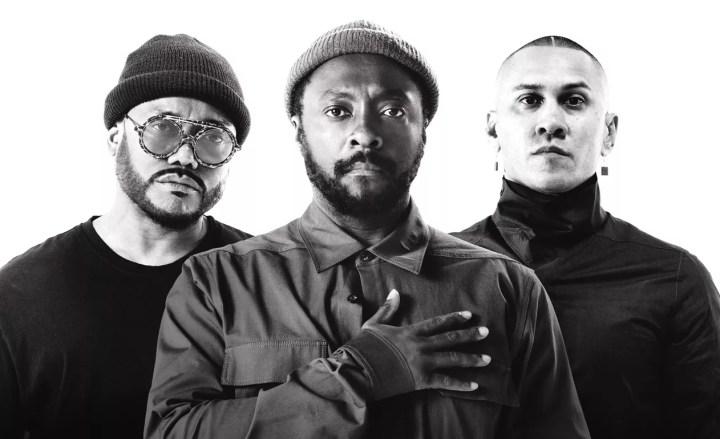 Apl.de.ap, Will.I.Am e Taboo formam o Black Eyed Peas — Foto: Divulgação