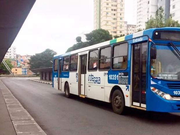 Ônibus Salvador (Foto: Henrique Mendes/G1)
