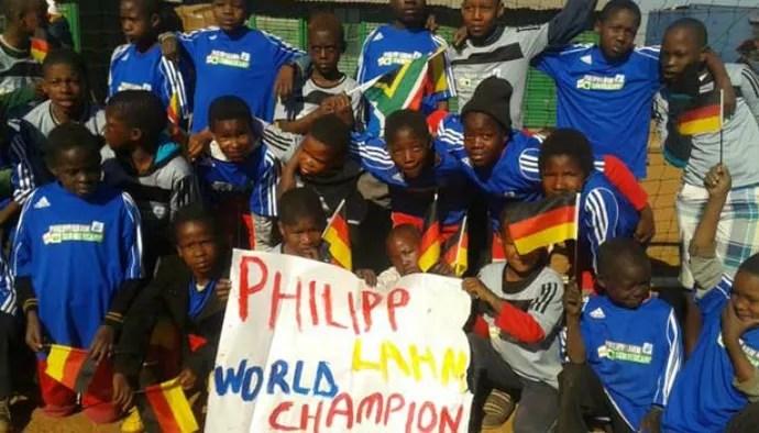 Fundação Philipp Lahm (Foto: Divulgação)