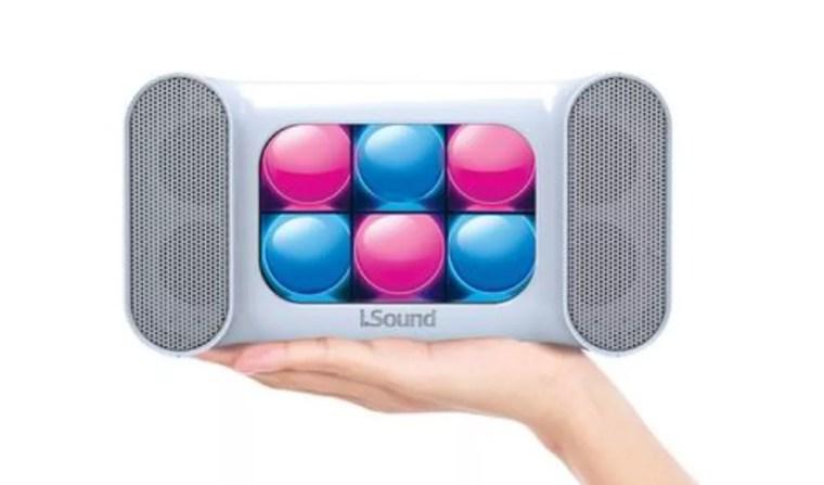 Iglowsound Mini Dancing Light tem funções especiais para controle de luzes (Foto: Divulgação/Isound)