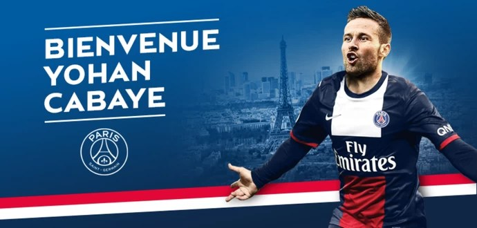 Yohan Cabaye Paris Saint-Germain (Foto: Reprodução / Site Oficial)