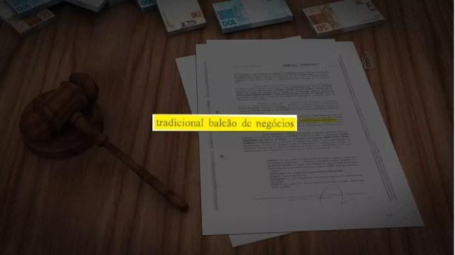 """Denúncia do MPE aponta que juiz Aldo transformou seu gabinete em um """"tradicional balcão de negócios"""" para venda de sentenças judiciais — Foto: TV Morena/Reprodução"""