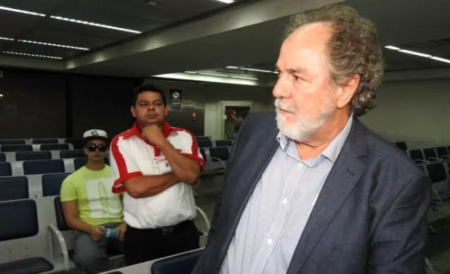 Luiz Cunha, diretor de futebol do São Paulo (Foto: Tossiro Neto)