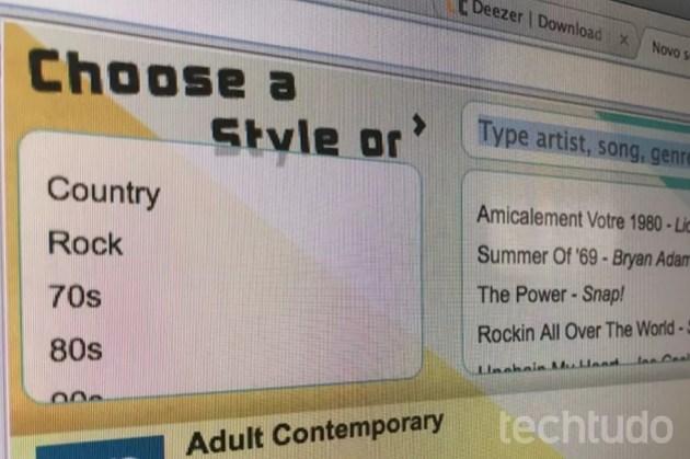 Dica mostra como ouvir música grátis usando o Google Chrome (Foto: Marvin Costa/TechTudo)