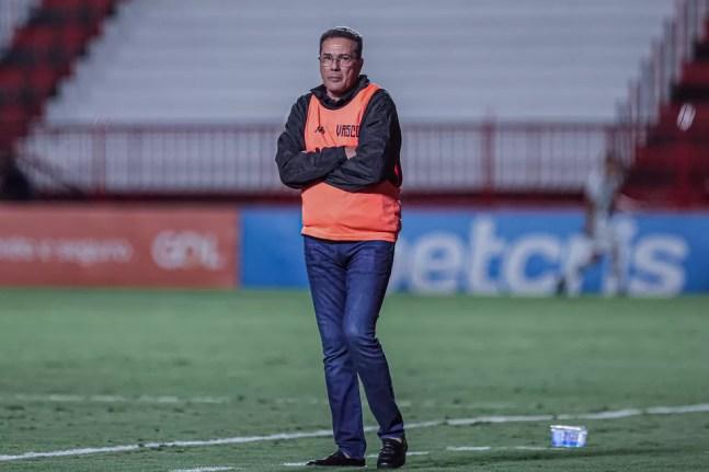 Vanderlei Luxemburgo na estreia do Vasco contra o Atlético-GO — Foto: Heber Gomes/Estadão Conteúdo