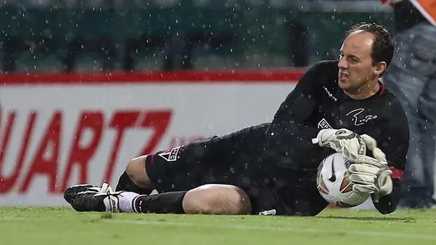 Rogério Ceni, São Paulo x América Nacional (Foto: Rubens Chiri / saopaulofc.net)