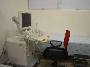 Novos equipamentos de hospital em Cacoal, RO (Foto: Rogério Aderbal/G1)