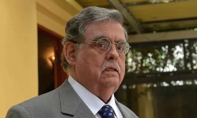 O criminalista Mariz de Oliveira, tido como um dos preferidos para a pasta da justiça, foi descartado por Temer