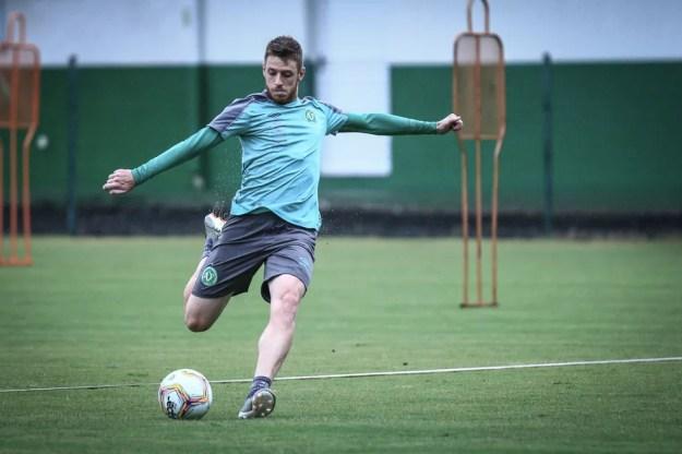 Aylon vai defender o CSA em 2021 — Foto: Marcio Cunha/Chapecoense
