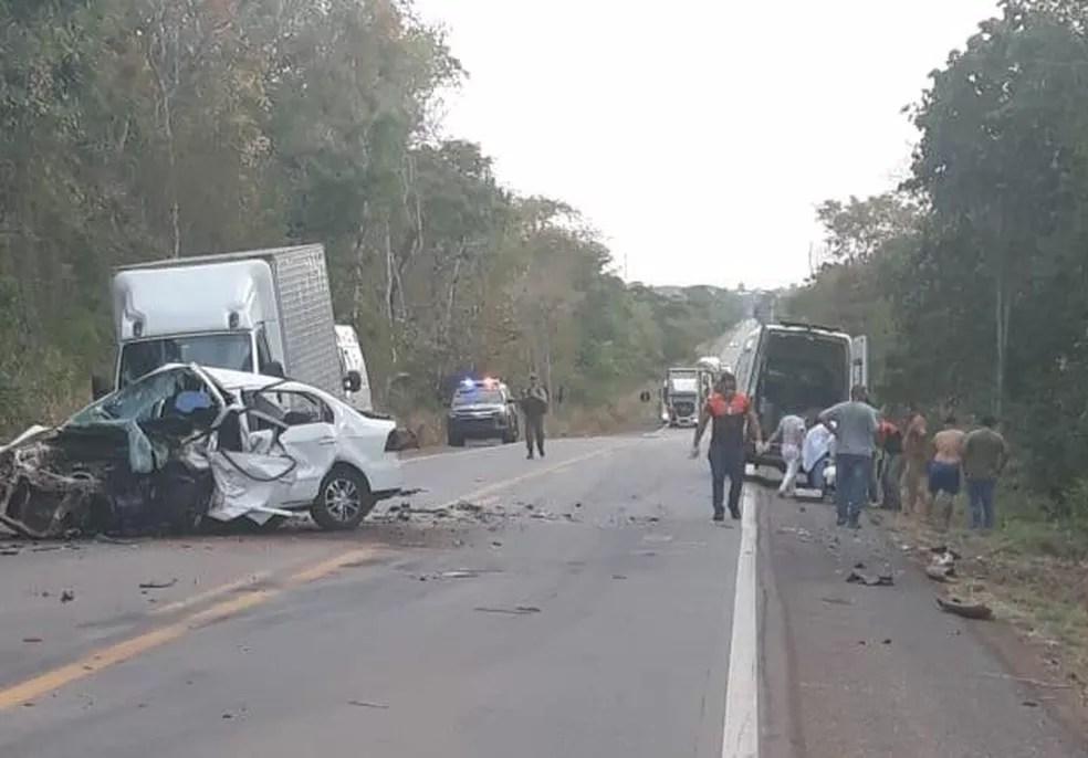 Vereador de Glória D'Oeste Edimar Luiz dos Santos (PSD), de 33 anos, morreu na noite deste domingo (8) ao sofrer um acidente na BR-174 — Foto: Canal Diário