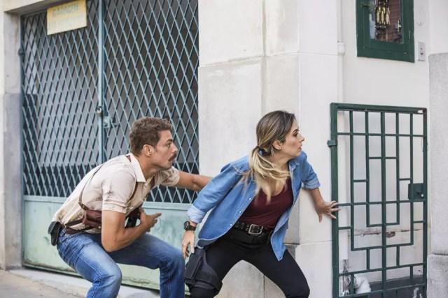 Cauã Reymond e Tatá Werneck vivem dupla cômica em filme (Foto: Divulgação)