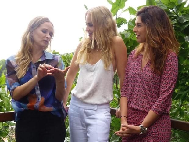 Fernanda Paes Leme e Fernanda Rodrigues são as convidadas do Estrelas (Foto: Estrelas / TV Globo)