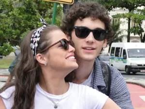 Ju é apaixonadinha por Dinho (Foto: Malhação / Tv Globo)
