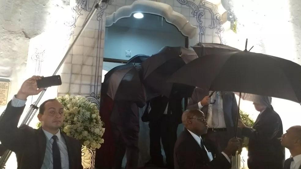 Deputada deve se casar na Igreja do Rosário, no Centro de Curitiba (Foto: Carolina Wolf/RPC)