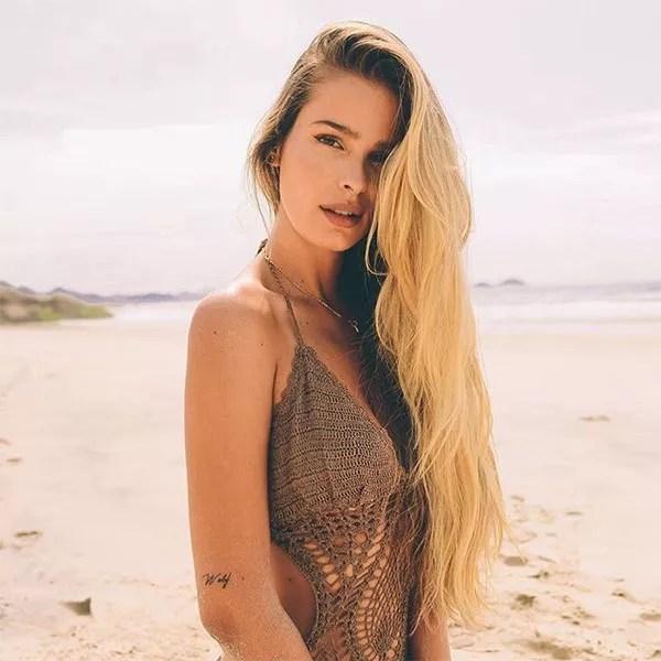 O cabelo de Yasmin Brunet virou uma referência para as mulheres (Foto: Reprodução/Instagram)