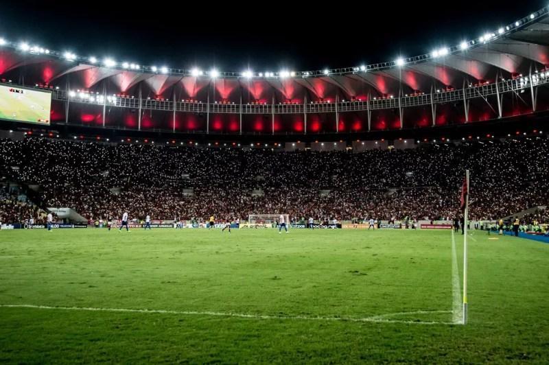 Flamengo e Avaí se enfrentam nesta quinta-feira, no Maracanã — Foto: Alexandre Vidal/GloboEsporte.com