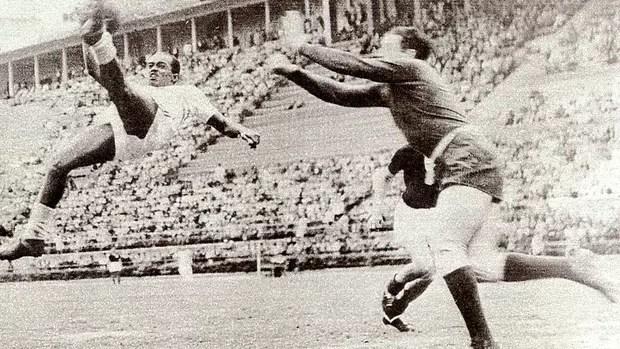 Leônidas da Silva gol de bicicleta (Foto: Ag. O Globo)