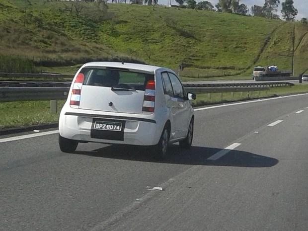 Novo carro da Volkswagen deve ser produzido na fábrica de Taubaté (SP). (Foto: Filipe Gonçalves/TV Vanguarda)